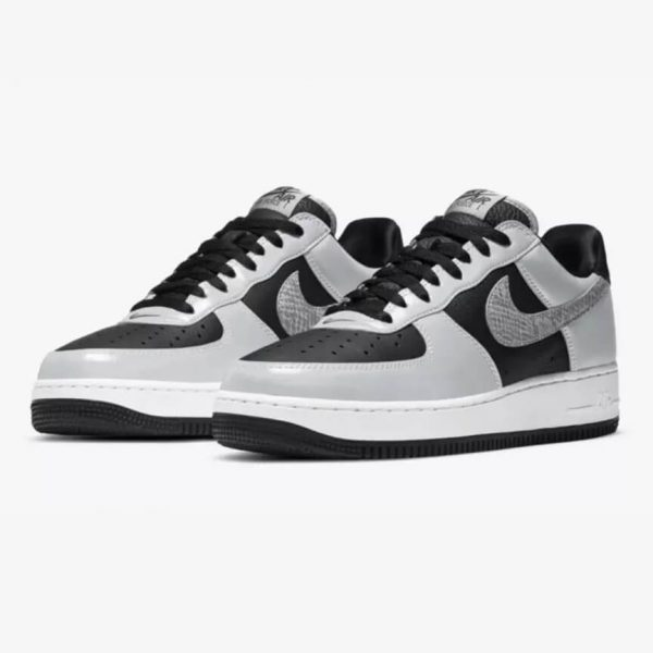 Nike Air Force 1 Silver Snake 1