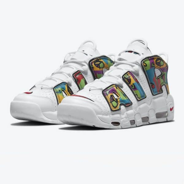 Nike Air More Uptempo Peace Love 1