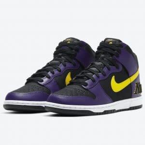 Nike Dunk High court purple