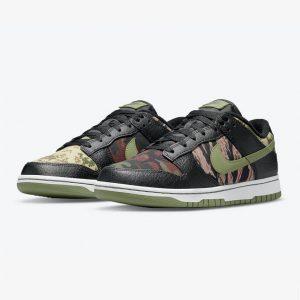 Nike Dunk Low Crazy Camo 1