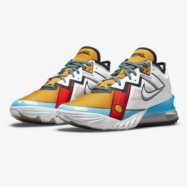 Nike Lebron 18 Low Stewie Griffin 1