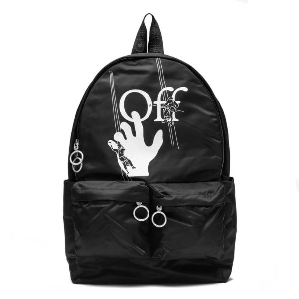 OFF WHITE ABLOH HAND PAINTERS BACKPACK 1
