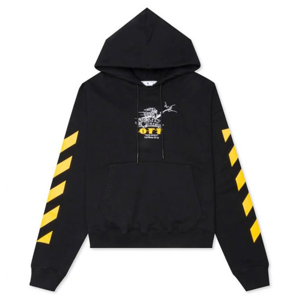 OFF WHITE DIAG FREE WIZARD OVER HOODIE 1