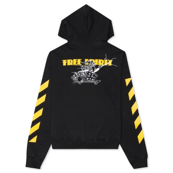 OFF WHITE DIAG FREE WIZARD OVER HOODIE