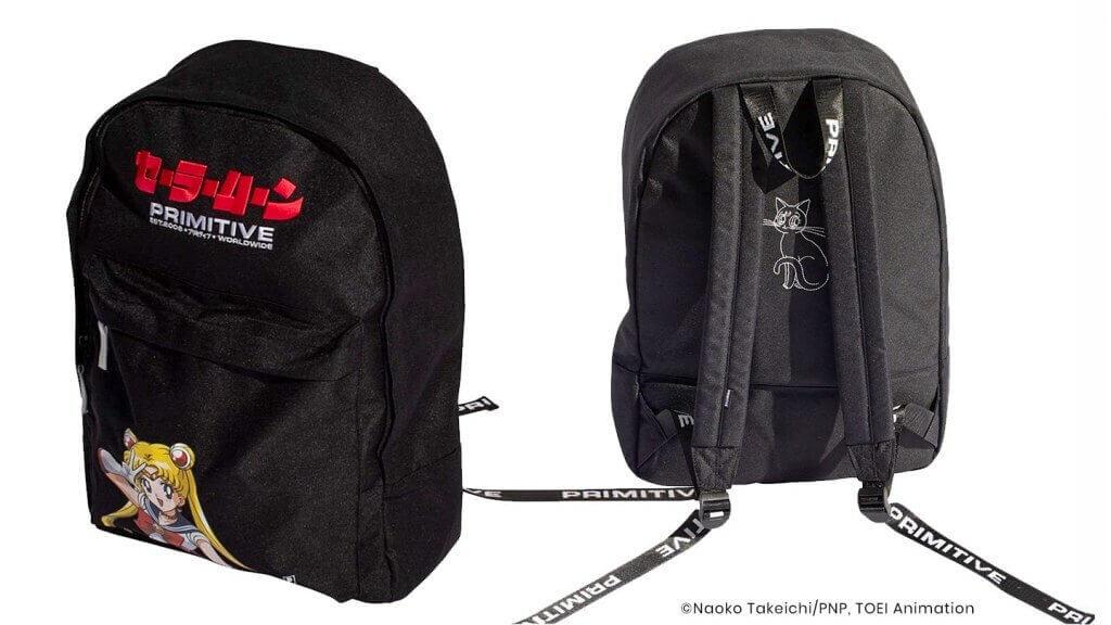 Primitive Backpack The Drop 1440 SAILOR MOON BACKPACK Black