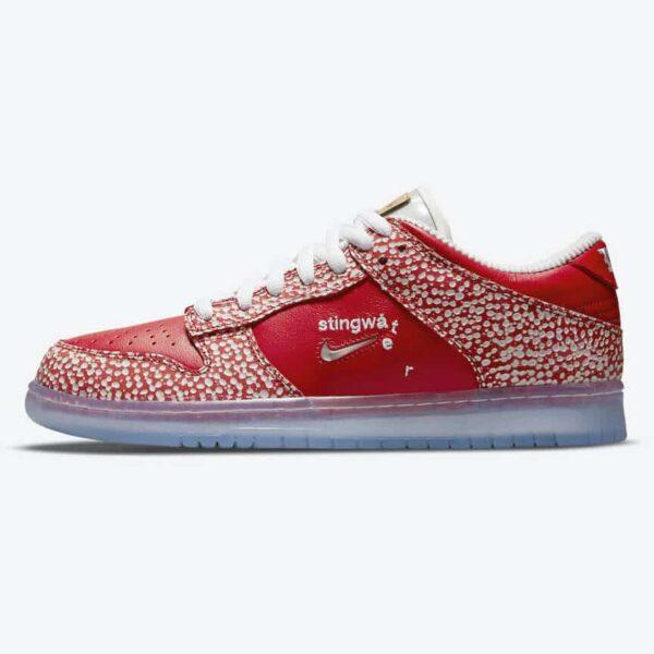 Stingwater x Nike SB Dunk Low Magic Mushroom 1
