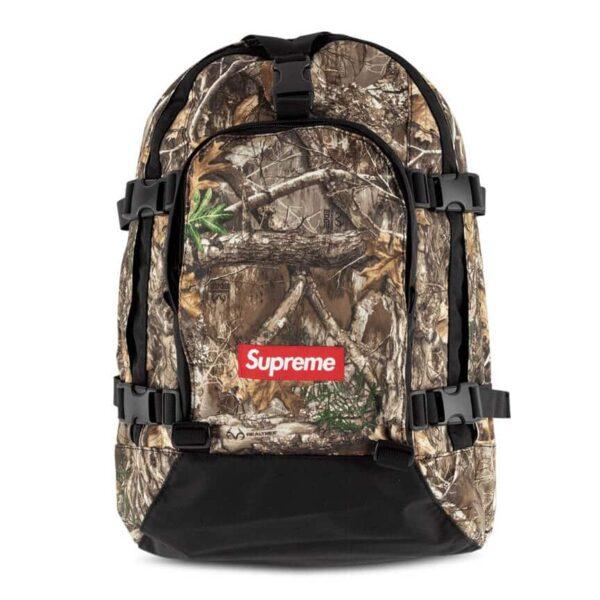 Supreme FW19 logo backpack 1