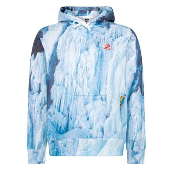 Supreme x The North Face Climb hoodie 1