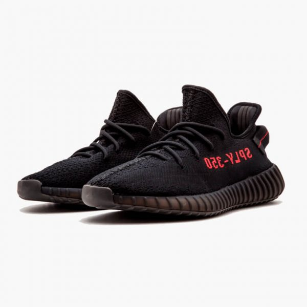 adidas yeezy boost 350 v2 core black red 1
