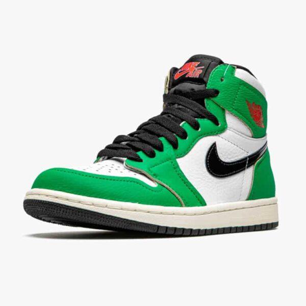 air jordan 1 retro high lucky green w 3