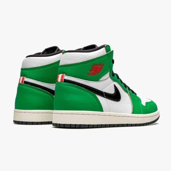 air jordan 1 retro high lucky green w 4