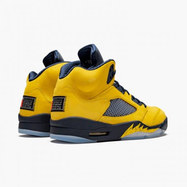 air jordan 5 retro michigan 4