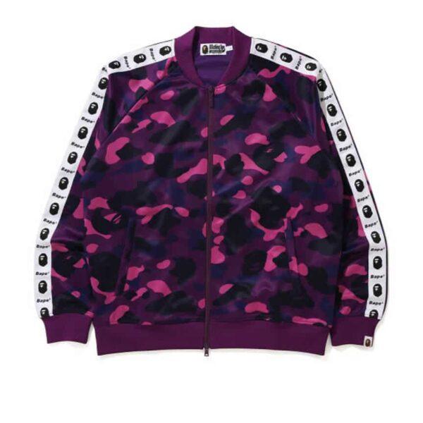 bape Camo tape jersey jacket