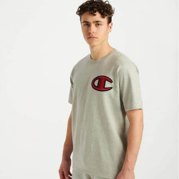 champion heritage floss stitch tee 1