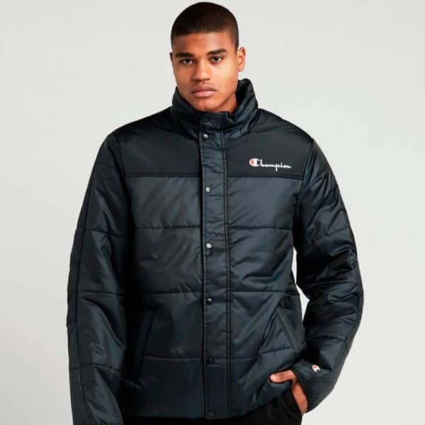 champion puffer jacket with packable hood 2