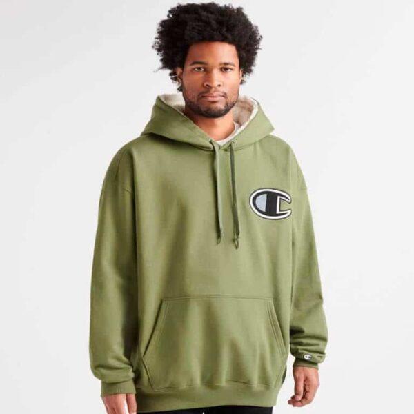 champion super fleece sherpa pullover hoodie