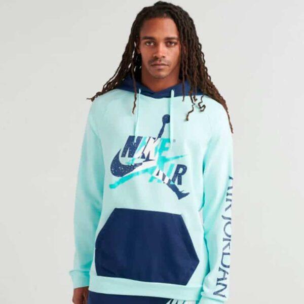jordan mj jumpman classics fleece pullover 1