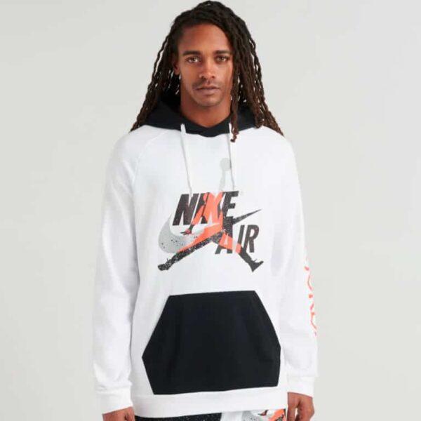 jordan mj jumpman classics fleece pullover
