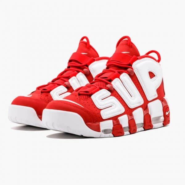 nike air more uptempo supreme red 1